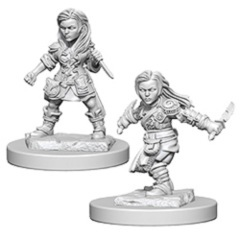 Halfling Female Rogues