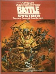 Battle System Fantasy Combat Supplement