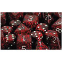 Chessex Speckled D6: Silver Volcano (36 ct) - CHX25944