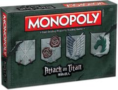 Attack on Titan: Monopoly