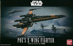 Poe Dameron's X-Wing 1/72