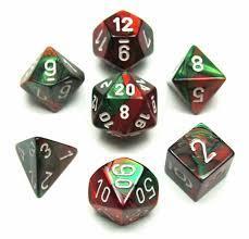 CHX26431 Green-Red w/White