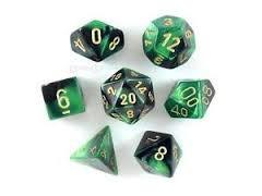 CHX26439 Black-Green /Gold