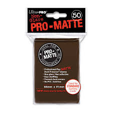 Ultra Pro Pro-Matte Sleeves - Brown (50 ct.)