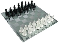 Chess - Mirror Board Glass CH2172
