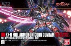 RX-0 Full Armour Unicorn Gundam (Destroyer Mode/Red)