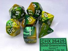 CHX26425 Gold-Green /White