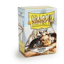 Dragon Shield Box of 100 in Matte Ivory