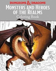 Monsters and Heroes of the Realms Coloring Book