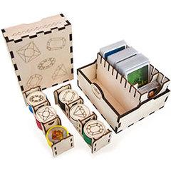 Game Crate Organizer: Splendor