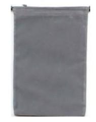 Grey Velour Dice Bag Large