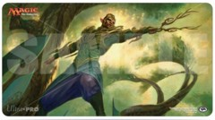 Magic the Gathering: Aether Revolt Play Mat - Rishkar, Peema Renegade
