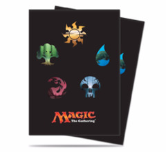 Magic the Gathering: Mana Series 5 Symbols Deck Protector Sleeves (80)  Ultra Pro