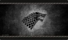 Game of Thrones Playmat - House Stark