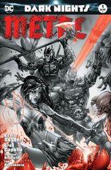Dark Nights Metal #1 Basaldua B&W variant
