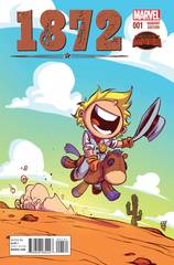 1872 #1 Skottie Young Variant Marvel Comic Book