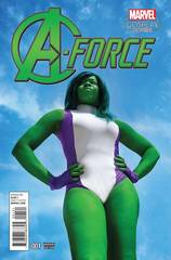 A-Force #1 Cosplay Variant Comic Book Marvel