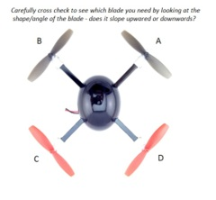 Micro Drone 2.0 Set of 4 Blades