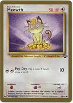 Meowth Gold-Bordered promo