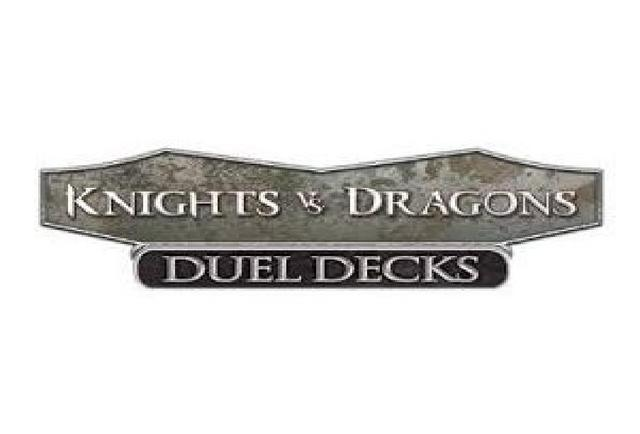 Dd knights vs dragons logo