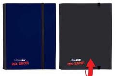 Ultra Pro 4 Pocket Pro Binder - Blue/Black
