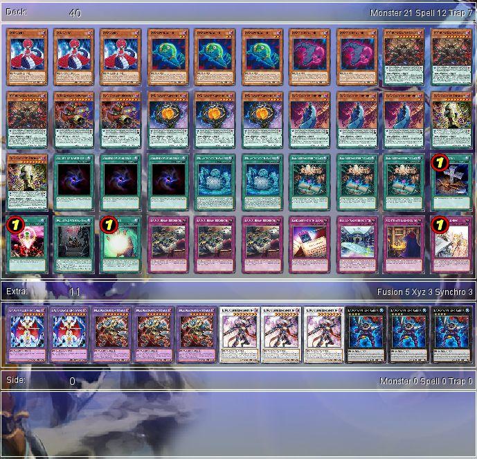 YuGiOh D/D/D Budget Deck Tournament Ready + Sleeves X1