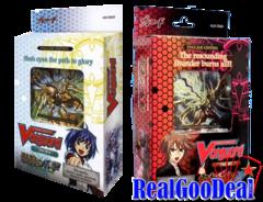 Cardfight!! Vanguard Resonance of Thunder Dragon / Slash of Silver Wolf - Combo