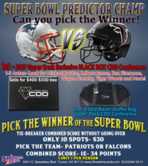 Super Bowl 51 Predictor Game
