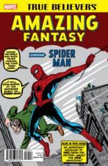 TRUE BELIEVERS AMAZING FANTASY STARRING SPIDER-MAN #1