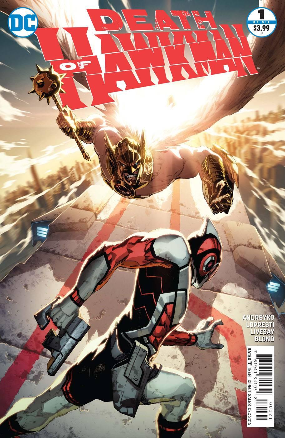 Death of Hawkman #1 (Of 6) Var Ed