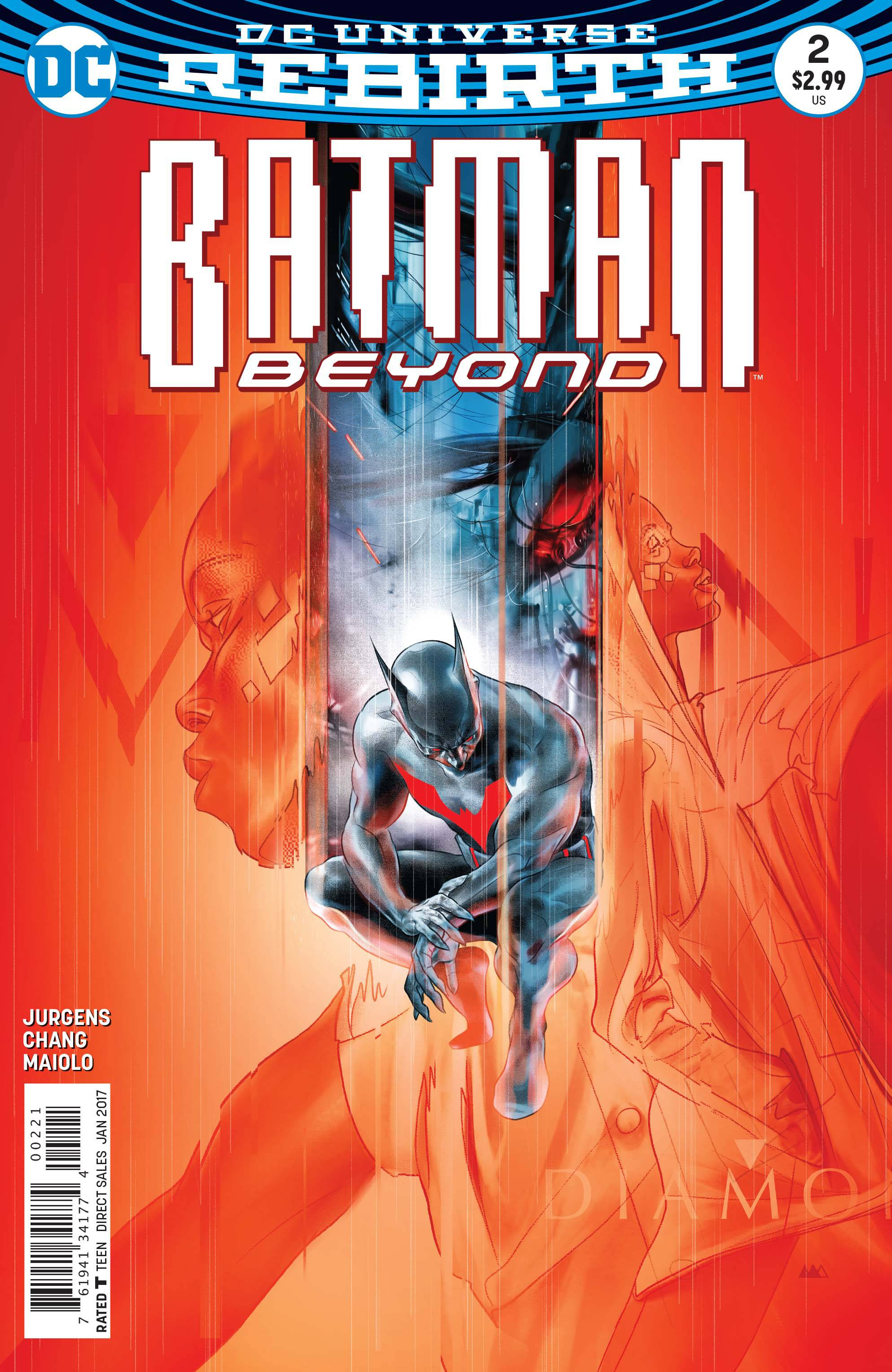 Batman Beyond #2 Var Ed