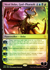 Nicol Bolas, God-Pharaoh - Foil