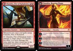 Chandra, Fire of Kaladesh // Chandra, Roaring Flame - Foil