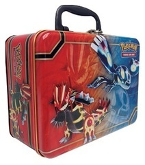 Pokemon Collector's Chest 2014 Groudon & Kyogre