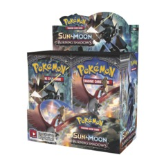 Sun and Moon 3 Burning Shadows Booster Box
