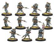 Hordes: Grymkin Hollowmen & Lantern Man Unit (Plastic)