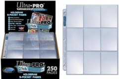 Ultra Pro 250ct 9-Pocket Pages (Display)