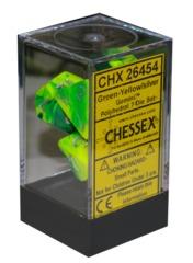 Gemini Polyhedral 7-Die Set Green/Yellow (26454)
