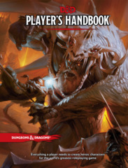 D&D: 5th Ed. Player's Handbook