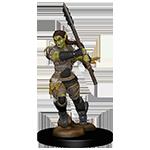 Half Orc Female Barbarian