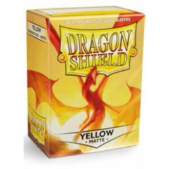 Dragon Shield: Standard Sleeves - Matte Yellow (100 ct)