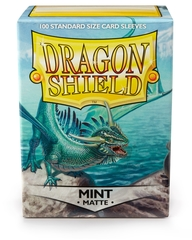 Dragon Shield: Matte Mint Box of 100