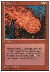 Fireball - 4th Edition - Black Border