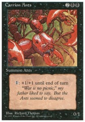 Carrion Ants - 4th Edition - Black Border