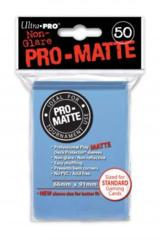 Ultra Pro: Standard Sleeves - Matte Light Blue (50ct)