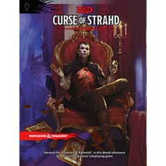 D&D: 5th Ed. Curse of Strahd - Adventure
