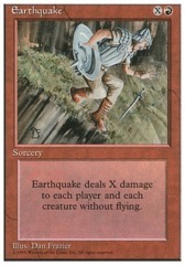 Earthquake - 4th Edition - Black Border