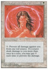 Circle of Protection: Red - 3rd Edition - Black Border