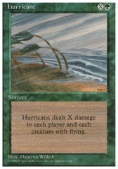 Hurricane - 4th Edition - Black Border