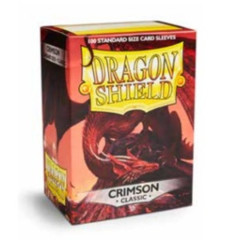 Dragon Shield: Standard Sleeves - Crimson Classic (100ct)